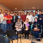 عکس یادگیری شرکت کنندگان کندوی ششم
