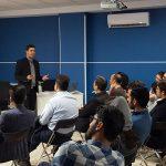 ارائه سید امین هاشمی در مورد بررسی سئو یک سایت و آنالیز رقبا