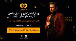 کندو پلاس؛ گزارش آماری پروژه های سئو در ایران